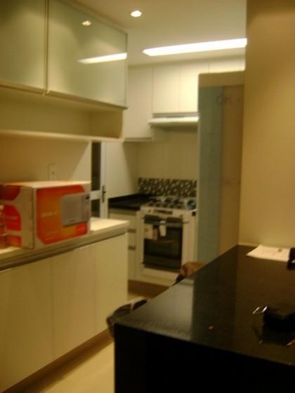 Cozinha Planejada Apartamento Jardim Lusitânia - Cozinhas Pequenas Planejadas