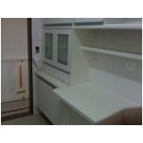 armário de cozinha sob medida preço Santa Cecília