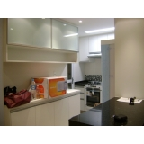 móveis planejados cozinha pequena Jardim Textília