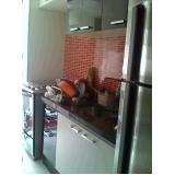 quanto custa cozinha sob medida pequena Chácara Maranhão